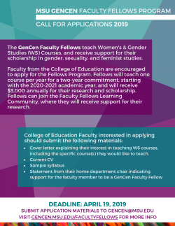 Center for Gender in Global Context :: Faculty Fellows Program